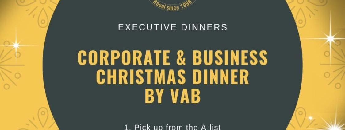 Christmas Executive Dinners